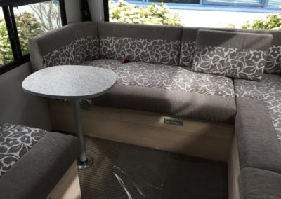 Motorhome customised interior