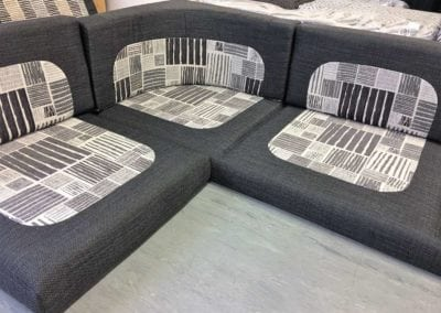 Customised motorhome seating