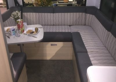 Motorhome seating and dining