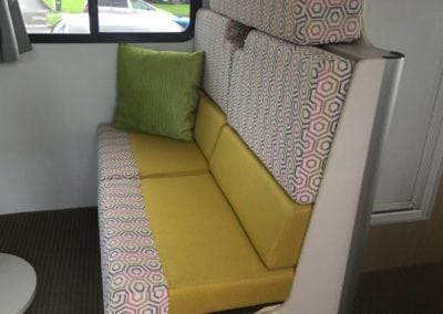 Dinette passenger seating