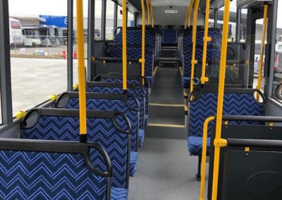 New bus with Starfish City Rider seats