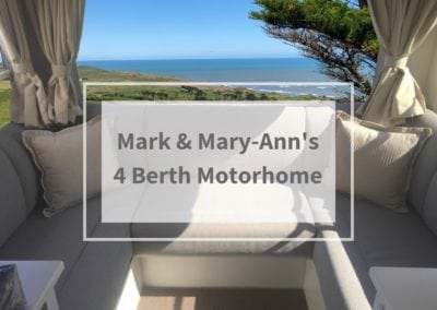 Mark & Mary-Ann's 4 Berth Motorhome Transformation