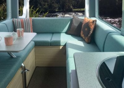 Green 4 berth lounge river