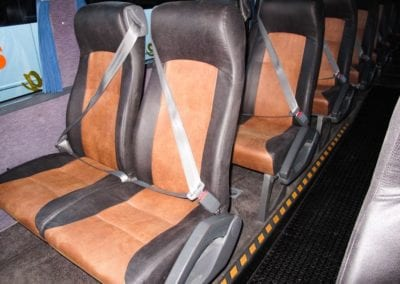 Mahu City Express seat