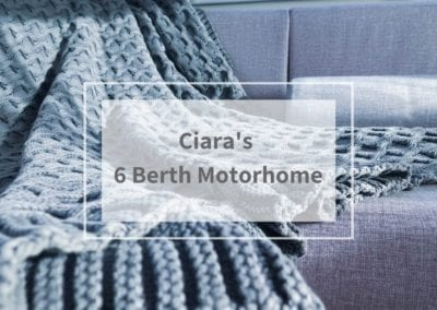 Ciara's 6 berth motorhome transformation